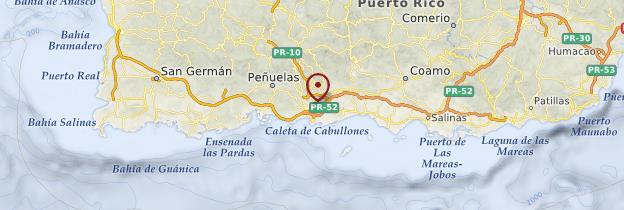 Carte Ponce - Porto Rico