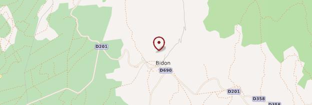Carte Bidon - Ardèche, Drôme