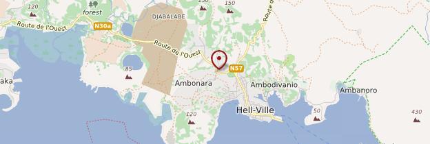 Carte Hell-Ville - Madagascar