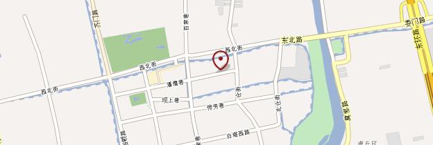 Carte Jardin de la Politique des Simples (Zhuozhengyuan) - Chine