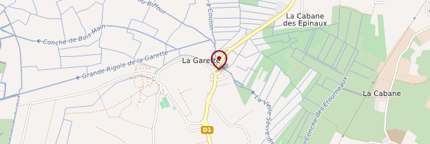 Carte La Garette - Poitou, Charentes