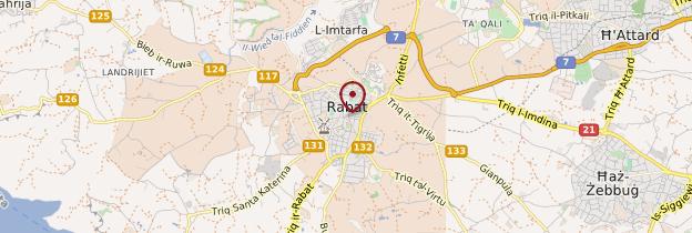 Carte Rabat (Victoria) - Malte