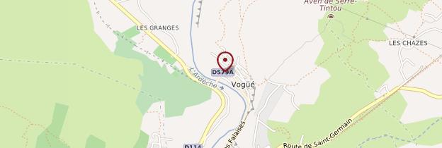Carte Vogüé - Ardèche, Drôme
