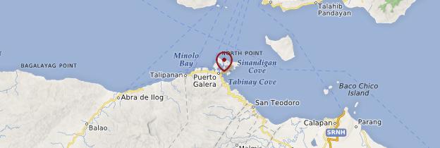 Carte Puerto Galera - Philippines
