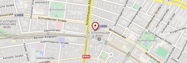 Carte Prenzlauer Berg - Berlin
