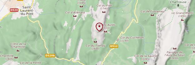 Carte Grand Som - Alpes