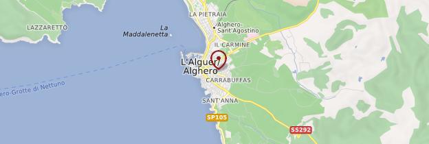 Carte Alghero - Sardaigne