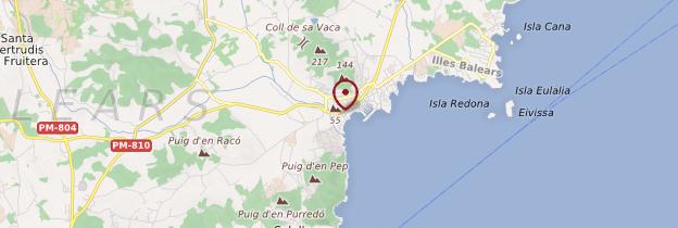 Carte Santa Eulària des Riu (Santa Eulalia del Río) - Ibiza