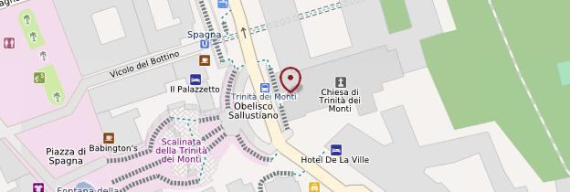 Carte Chiesa della Trinità dei Monti - Rome