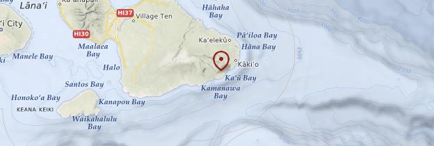 Carte Haleakalā - Hawaii