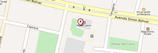 Carte Museo Larco - Lima