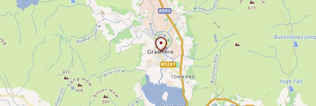 Carte Grasmere - Angleterre