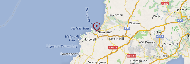 Carte Newquay - Angleterre