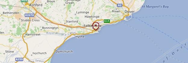 Carte Touristique Kent Angleterre.Folkestone Kent Guide Et Photos Angleterre Routard Com