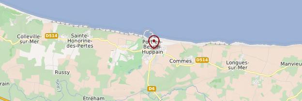 Carte Port-en-Bessin - Normandie