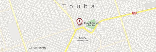Carte Mosquée de Touba - Sénégal