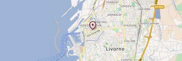 Carte Livorno (Livourne) - Toscane
