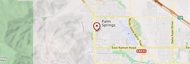 Carte Palm Springs - Californie