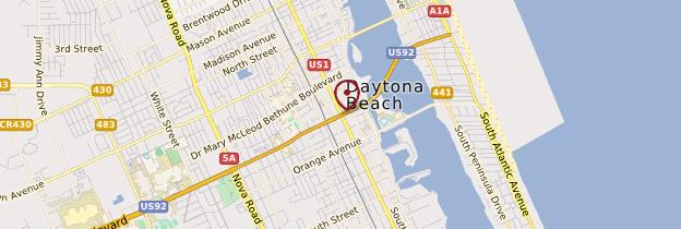 Carte Daytona Beach - Floride