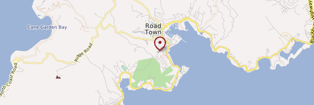 Carte Tortola - Îles Vierges britanniques