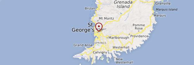 Carte St George - Grenade