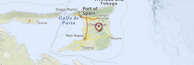Carte Trinité - Trinité-et-Tobago
