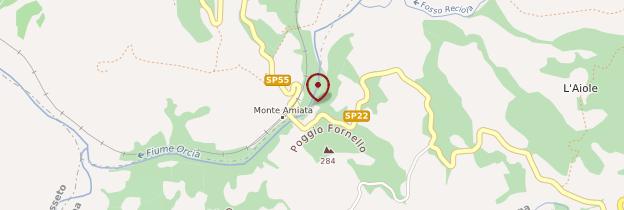 Carte Monte Amiata - Toscane