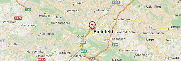 Carte Allemagne Bielefeld.Bielefeld Rhenanie Du Nord Westphalie Guide Et Photos