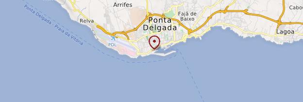 Carte Ponta Delgada - Açores