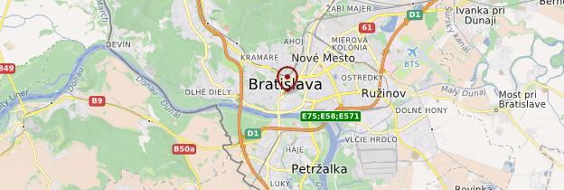 Carte Bratislava - Slovaquie