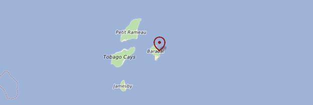 Carte Baradol - Saint-Vincent-et-les-Grenadines