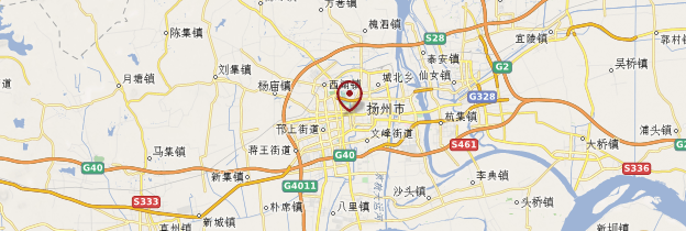 Carte Yangzhou - Chine