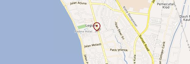 Carte Legian - Bali