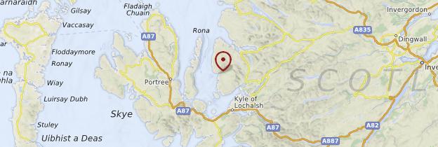 Carte Applecross - Écosse
