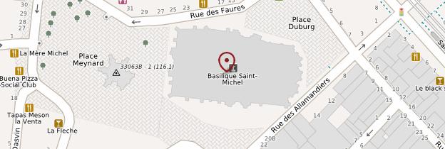 Carte Basilique Saint-Michel - Bordeaux