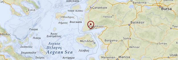 Carte Assos - Turquie