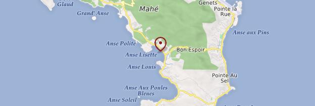 Carte Anse Boileau - Seychelles