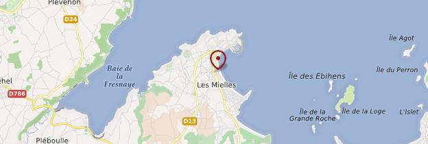 Carte Saint-Cast-le-Guildo (Sant-Kast-Ar-Gwildoù) - Bretagne
