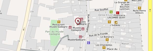 Carte Gadagne musées - Lyon et ses environs