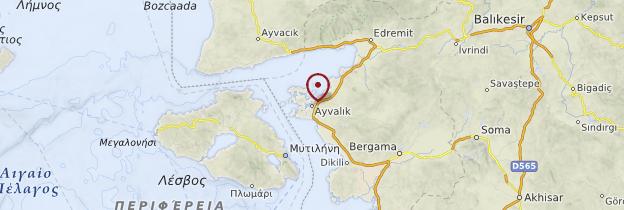 Carte Ayvalik - Turquie
