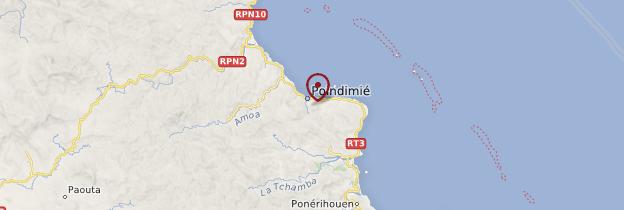 Carte Poindimié - Nouvelle-Calédonie