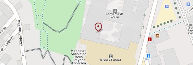 Carte Miradouro da Graça - Lisbonne