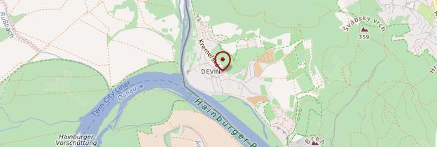 Carte Devín - Slovaquie