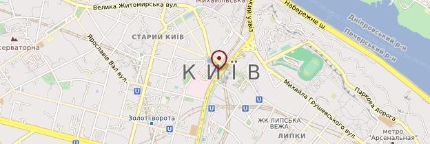 Carte Église de la Trinité de Kiev - Ukraine