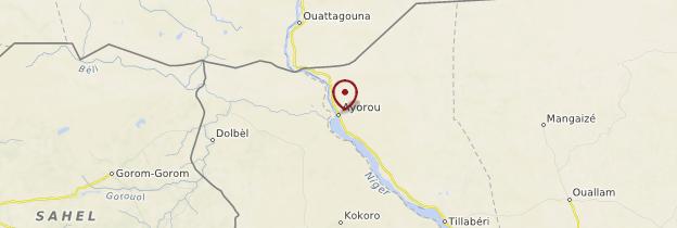 Carte Ayorou - Niger