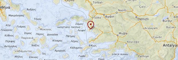 Carte Didim - Turquie