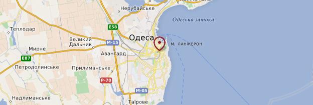 Carte Odessa - Ukraine
