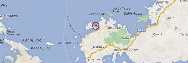 Carte Yalikavak - Turquie