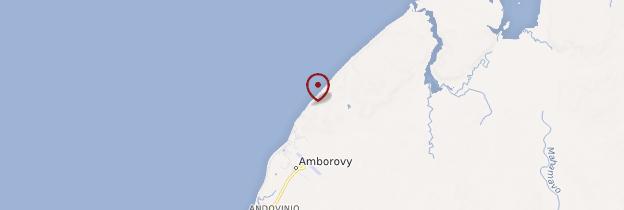 Carte Amborovy - Madagascar