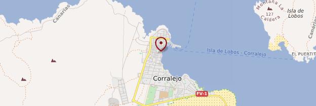 Carte Corralejo - Canaries